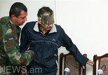 Дильгем Аскеров в зале суда