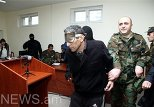 Шахбаз Гулиев в зале суда