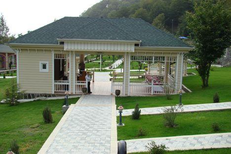 Азербайджан, центр оздоровительного отдыха в Габале